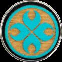 drewno beż/błękit